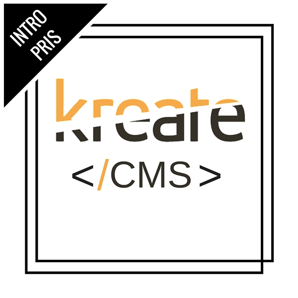 kreate cms intro pris